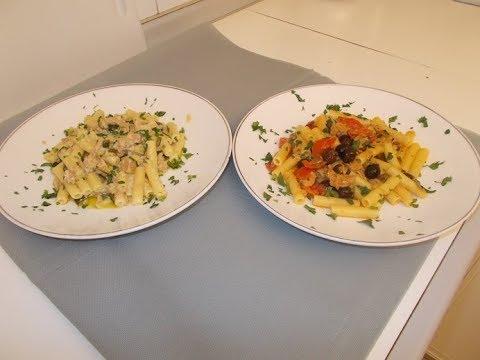 2 ricette di pasta con tonno facili e veloci le ricette for Ricette veloci pasta