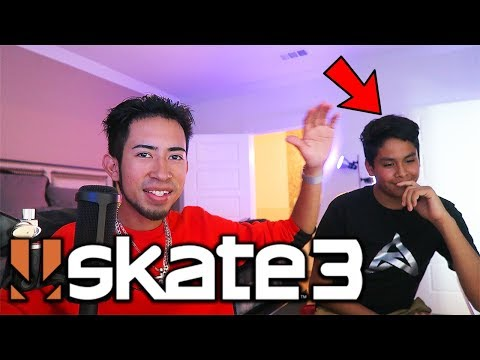 Skate 3 WITH FAN IN REAL LIFE!!
