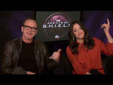 Clark Gregg & Chole Bennet  ABC's Marvel's Agents of S.H.I.E.L.D. on 'biz Express'