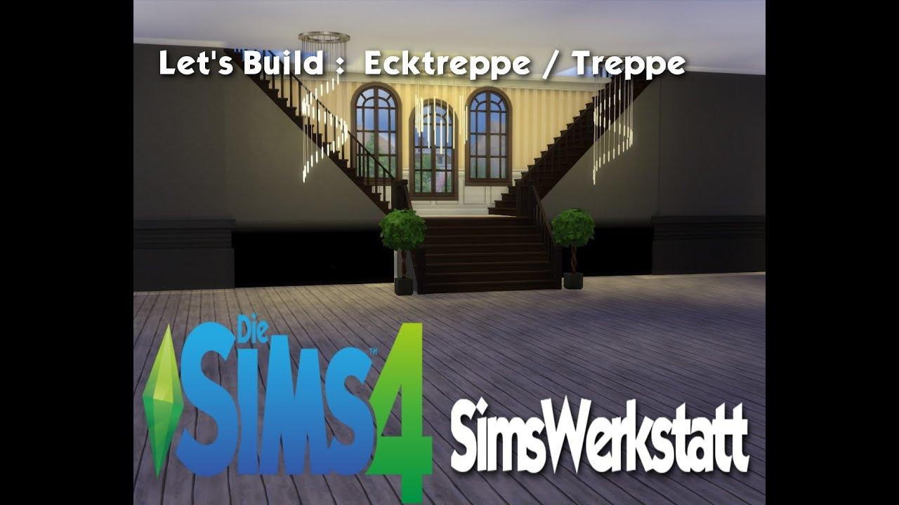 sims4 let 39 s build ecktreppe treppe youtube. Black Bedroom Furniture Sets. Home Design Ideas