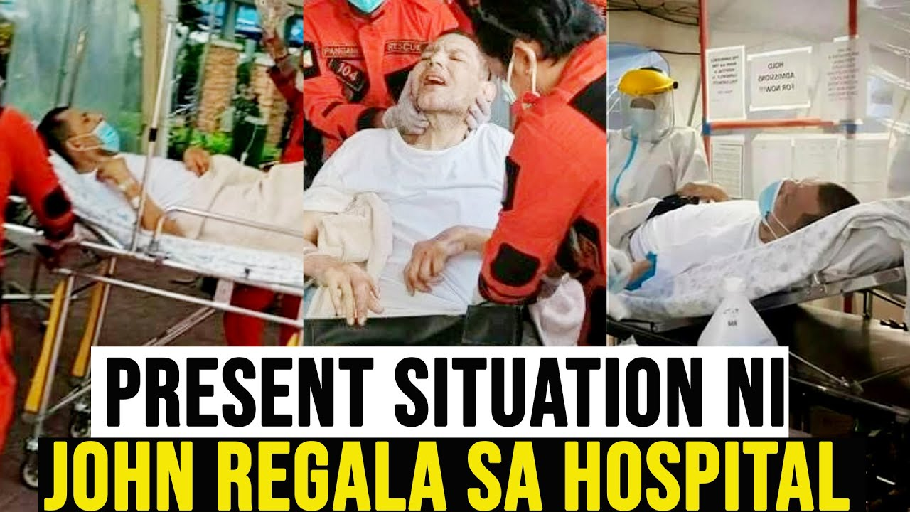 Latest!! TRUE SITUATION ni JOHN REGALA sa LOOB ng Hospital Ngayon!