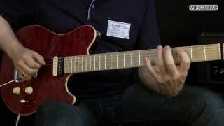 E-Gitarren Training: Pentatonik Licks - Diagonal Pentatonik Lick Nr.1