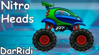 безумные машины - Nitro Heads - крутые трюки #1