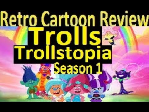 Download Retro Cartoon Review Trolls Trollstopia season 1