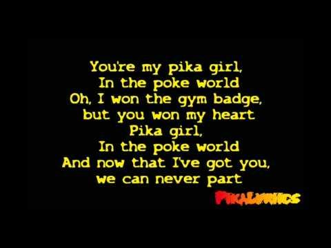 Nightcore - Pika Girl [Official Lyrics Video] [HD/HQ]