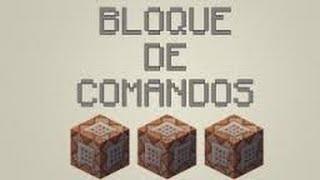 Minecraft Trucos Como conseguir Bloque de comandos 1.8