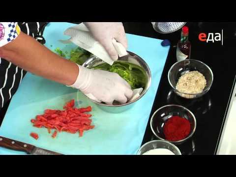 Салат из форели горячего копчения рецепты