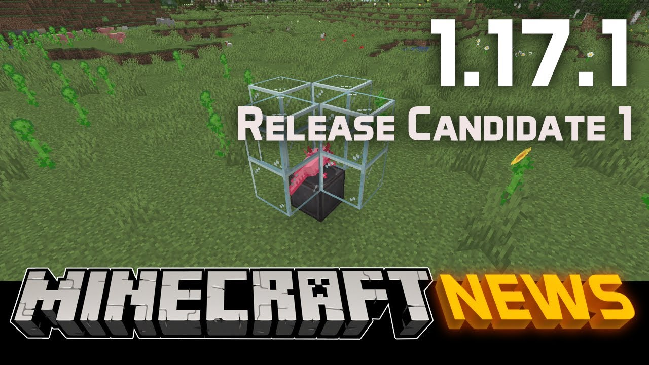 What's New in Minecraft 1.17.1 Release Candidate 1?