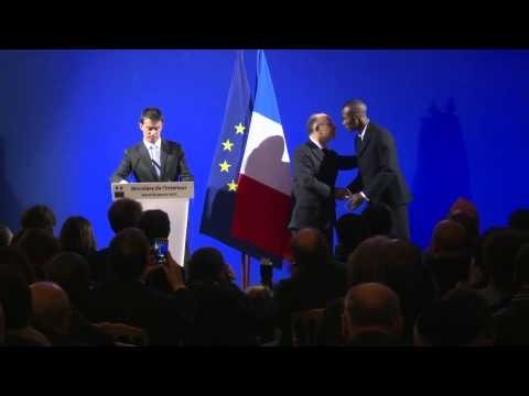 Lassana is proud and touched  to become French citizen