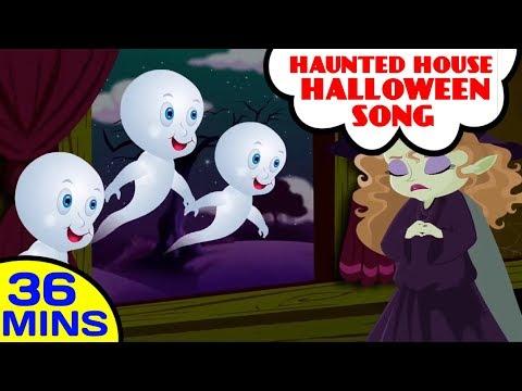 Baby Hazel Haunted House Halloween Songs For Kids | Popular Nursery Rhymes