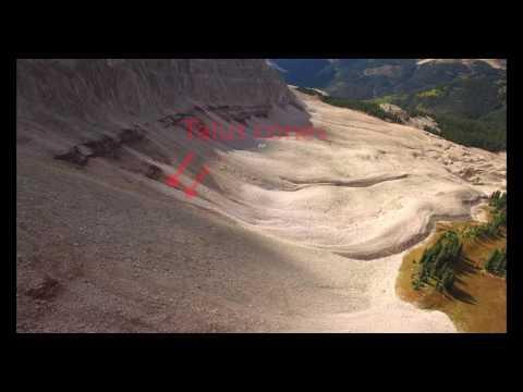 Engineer Mountain, Colorado - Rock Glacier - in 4K