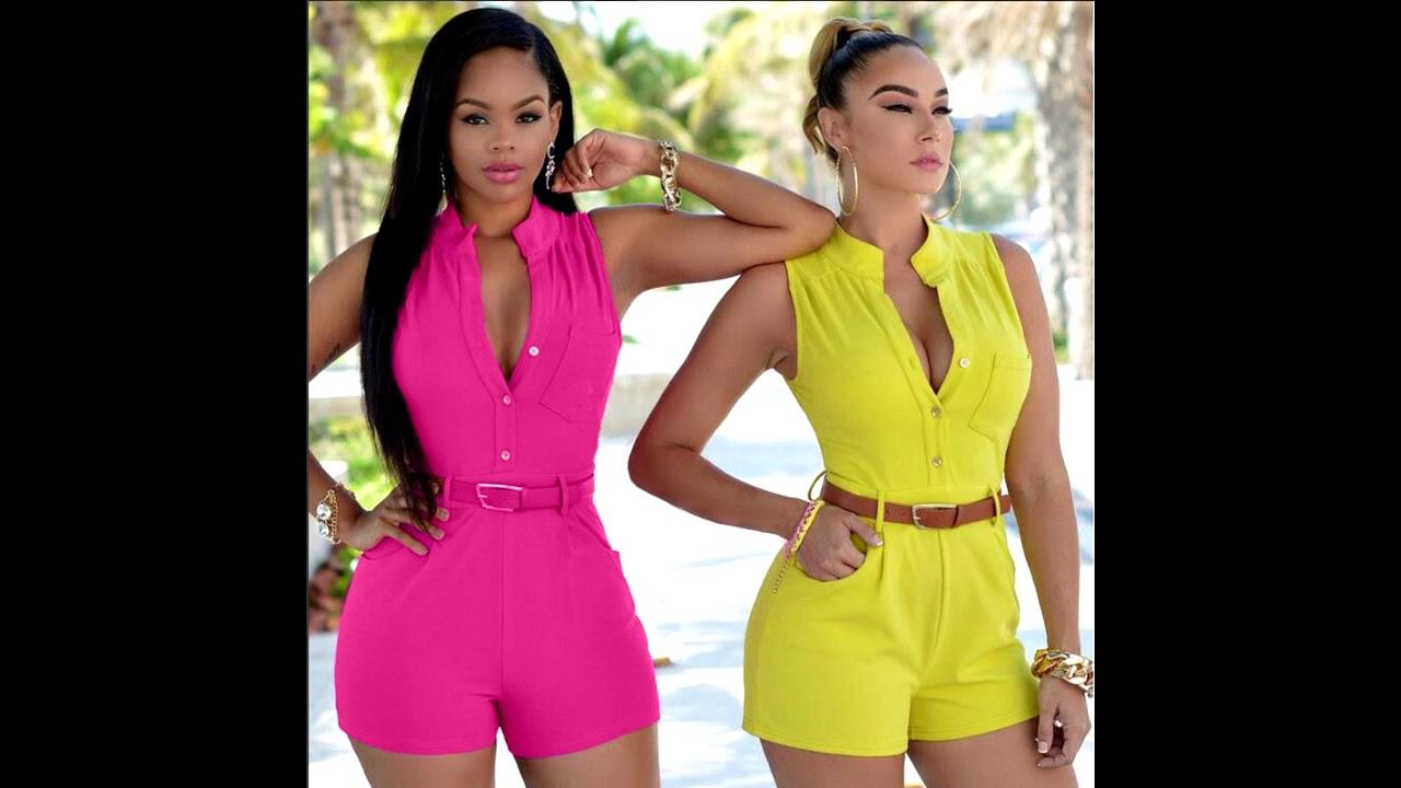 3da0da92c Roupas da moda Modelos de Macaquinho Feminino - YouTube