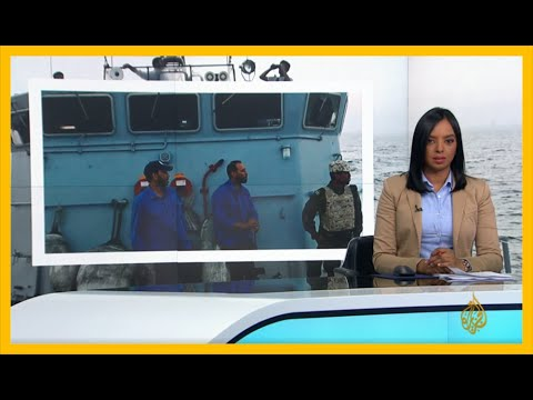 القوات البحرية التابعة لحكومة الوفاق تحتجز سفينة قادمة من الإمارات لتزويد قوات #حفتر بوقود الطائرات  - نشر قبل 3 ساعة