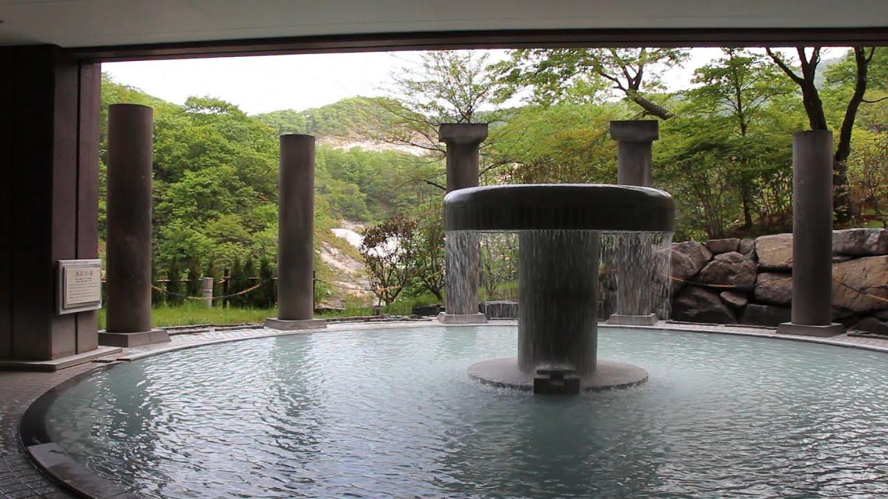[Select Onsen Japan]Dai-ichi Takimotokan Vibrant greens of Noboribetsu