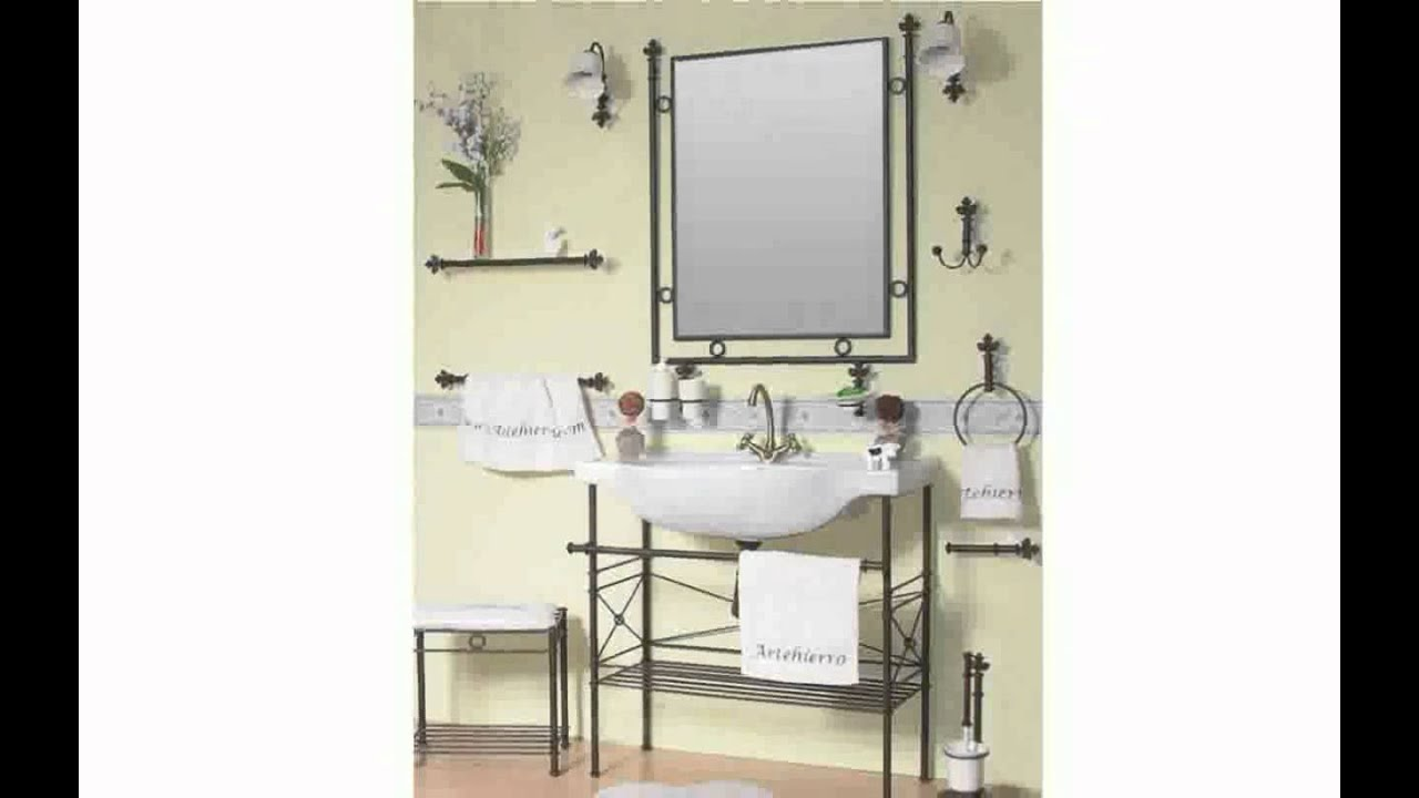 accessoires de salle de bain youtube. Black Bedroom Furniture Sets. Home Design Ideas
