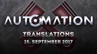 Little Translation Update: 15. September 2017