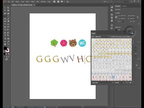 Adobe Illustrator CC 2018 - Նոր Տառատեսակներ (New Fonts) In Armenian