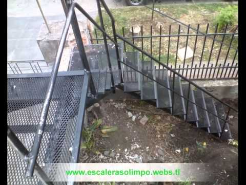 Escaleras quebradas de material desplegable youtube for Escaleras de material