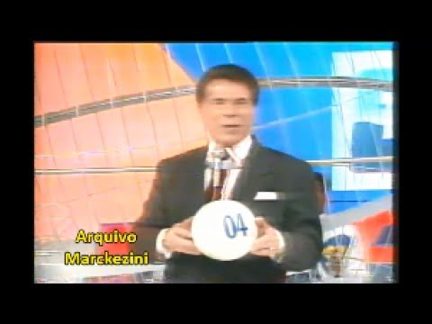 Sorteio Da Tele Sena De Natal (SBT/1995)