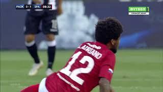 ΠΑΟΚ - Σπαρτακ Μοσχας 3-2 / PAOK-Spartak Moscow (8-8-18) Προκριματικος Champions League (full game)