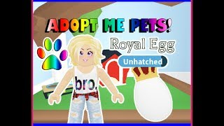 Roblox Adopt me PETS in test server!!!
