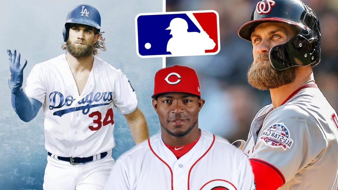 Bryce Harper CONFIRMED to LA Dodgers!  Yasiel Puig e62c915987e