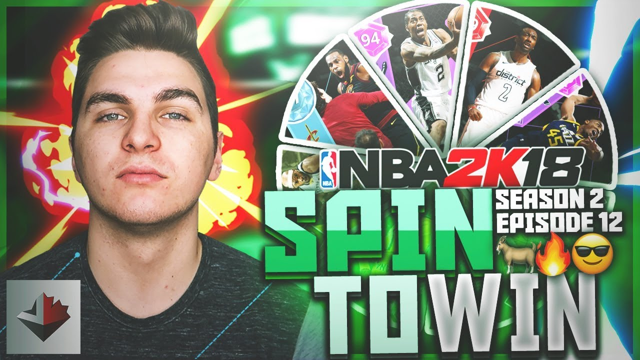 DIAMOND LEBRON JAMES! NBA 2K18 SPIN TO WIN (S2E12)