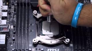 how to install noctua nh d15 lga 2011 3