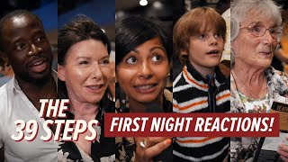 The 39 Steps: First Night Reactions | #Barn39Steps