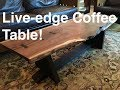 How to make a Live-edge table: Kodama Woodworks Episode 4