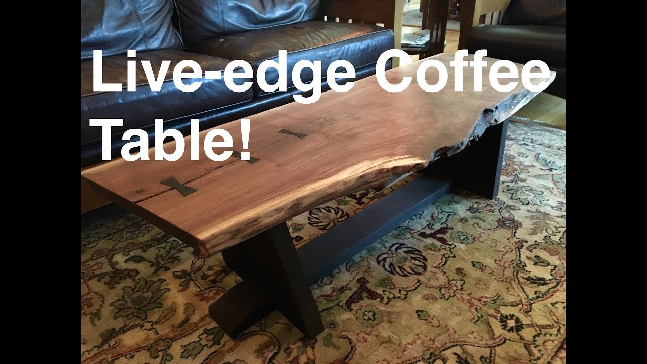 How To Make A Live Edge Table: Kodama Woodworks Episode 4