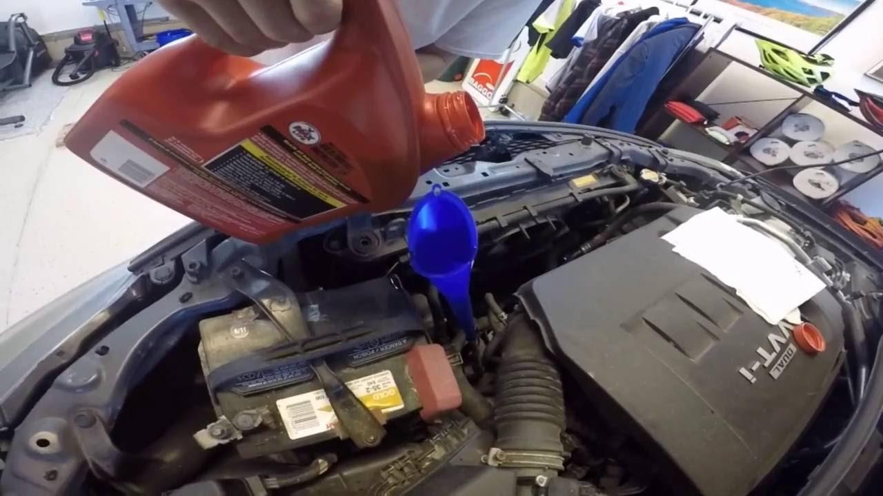 2010 toyota corolla quotsquot automatic transmission fluid