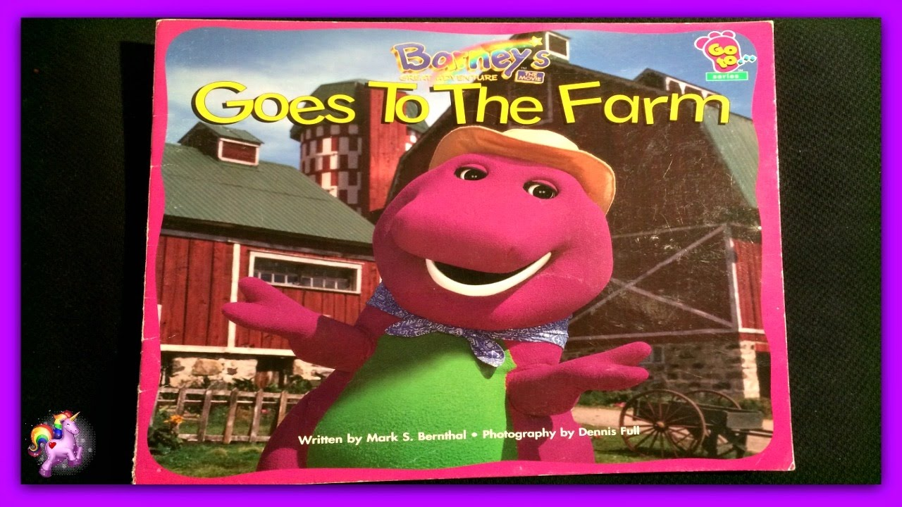Quot Barney Goes To The Farm Quot Read Aloud Storybook For