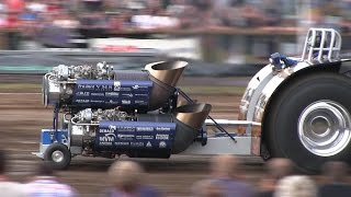 Crazy & Powerfull Tractor Pulling Builds | Tractor Pulling Denmark