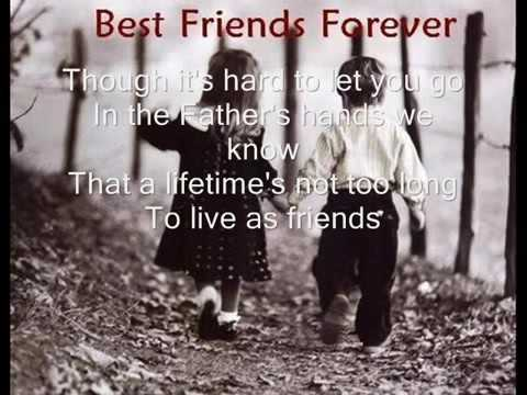 """Friends Are Friends Forever,"" by Michael W. Smith!"