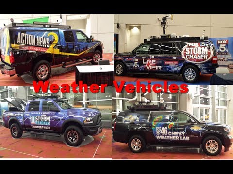 Weather Vehicles@2017 Atlanta International Auto Show