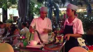 Drinking Snake Blood Saigon Vietnam 2014