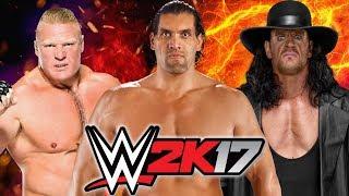 Brock Lesnar vs The Great Khali vs The Undertaker   Ladder