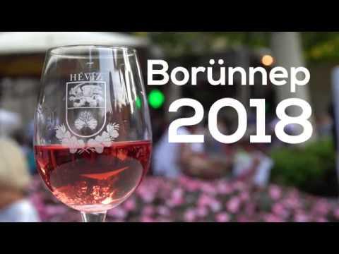 Hévízi Borünnep 2018
