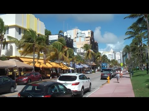 Miami South beach now rejuvenated and vibrant