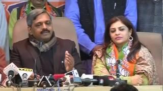 Shazia Ilmi joins BJP, but says won't contest Delhi polls