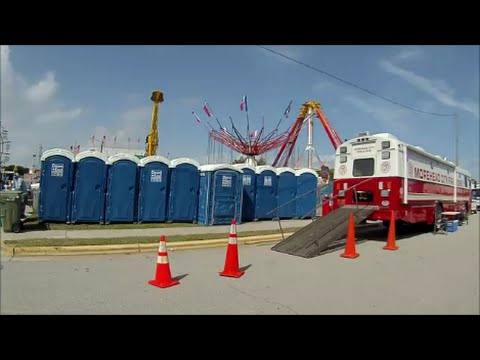 Porta Potty Review - NC Seafood Festival 2015   Morehead City, NC - Oct 3, 2015