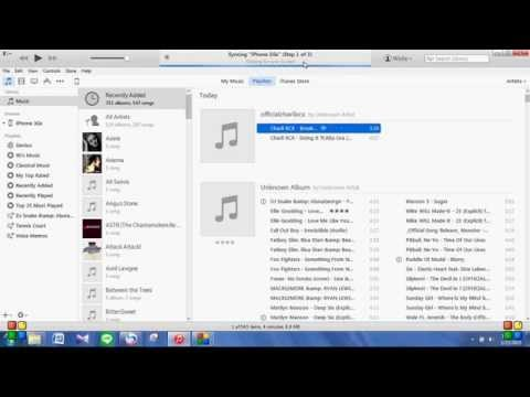 How to put music in your iphone from computer