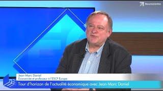 """""""Macron n'y est pour rien dans le retour de la croissance !"""" Jean-Marc Daniel"""