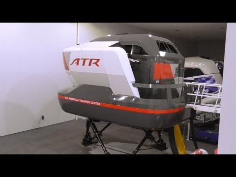 ATR-600 series Full Flight Simulator construction