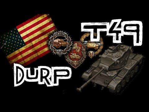 World of Tanks    T49 - Mr. One Shot! from YouTube · Duration:  12 minutes 52 seconds