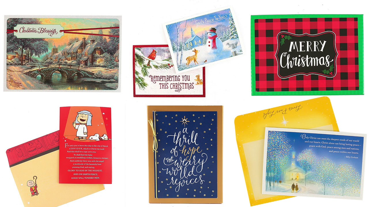 Boxed Christmas Cards Youtube