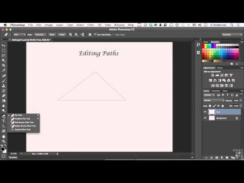 Adobe Photoshop CC Tutorial | Editing Vector Paths And Shapes