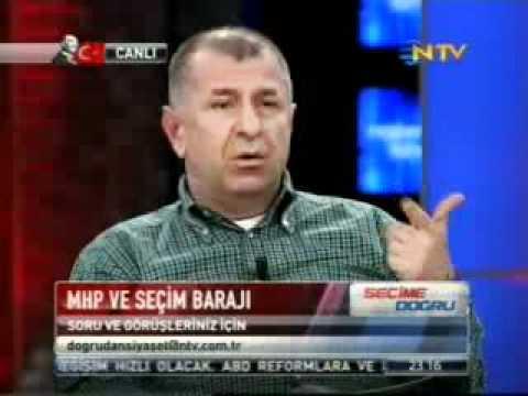 Simav depremi sırasında NTV canlı yayını