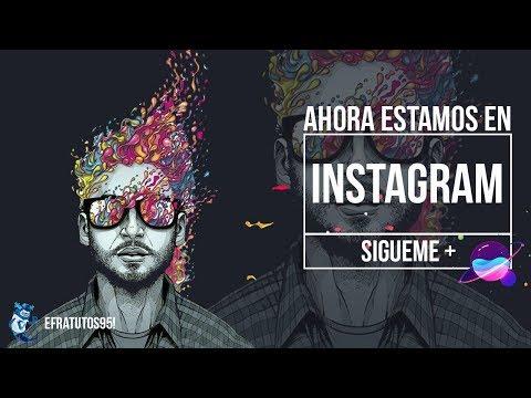 Ahora Estamos En Instagram | Sigueme | Animación Instagram After Effects